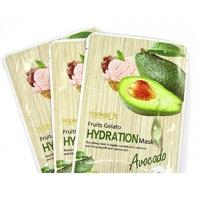 Питательная тканевая маска Wokali Fruits Gelato Hydration Mask с авокадо
