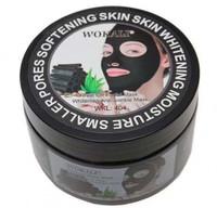 Черная маска для лица WOKALI Black Mask WKL 404 (банка)