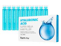 Филлер для волос FarmStay Hyaluronic Acid Super Aqua Hair Filler