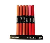 Блеск мак Ultra Matte Lip двойные (6шт.)