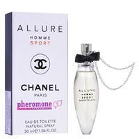 Мини-парфюм с феромонами 30ml Chanel Allure Homme Sport