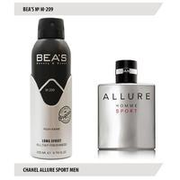 Дезодорант Bea's M 209 (Chanel Allure Sport Men)
