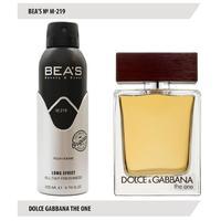 Дезодорант Bea's M 219 (Dolce Gabbana The One for Men)