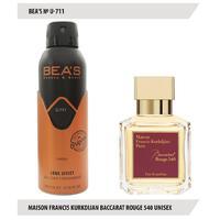 Дезодорант Bea's U 711 (Maison Francis Kurkdijan Baccarat Rouge 540)