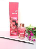Аромадиффузор с палочками Shaik Bamboo Тропические розовые фрукты 100 мл