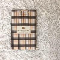 """Брендовый пакет """"Burberry"""" (23 х 15 х 8,5)"""