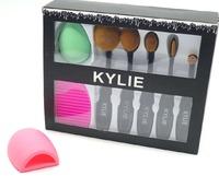 Набор Kylie (5 кистей, спонж, щеточка)