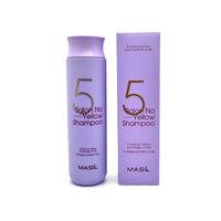 Masil 5 Salon No Yellow Shampoo Шампунь против желтизны волос, 300мл.