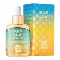 Сыворотка FARMSTAY GOLD COLLAGEN NOURISHING AMPOULE 35 ml